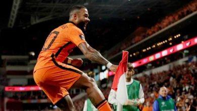 صورة ديباي يقود هولندا للفوز علي تركيا بسداسية مقابل هدف ضمن تصفيات أروبا المؤهلة لكأس العالم 2020