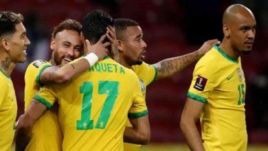 صورة نيمار يقود البرازيل للفوز بثنائية على بيرو في تصفيات كأس العالم 2022