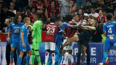 صورة لجنة التأديب بالدور الفرنسي تقرر إعادة مباراة نيس ومارسيليا بالدوري بعد أحداث الشغب