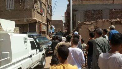 صورة بعد 3 ساعات من الاشتباكات.. تصفية عنصر إجرامي بقرية الأشراف