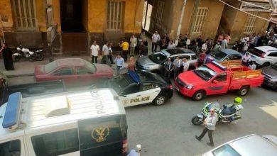 صورة عاجل:- منشورات إرهابية داخل محكمة المنيا والأمن يخلي المجمع والشوارع المحيطة