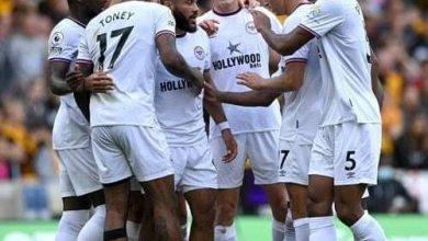 صورة برينتفورد يُسقط وولفرهامبتون بثنائية في الدوري الإنجليزي