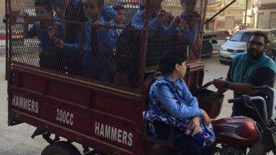 صورة التروسيكل وسيارات الماشية .. مواصلات غير آدمية بدير مواس .. والمسؤولين في نوم عميق