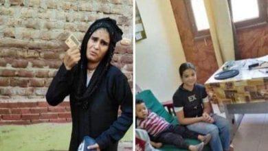 صورة محاولة فاشلة من متسوله لخطف 3 أطفال بديرمواس