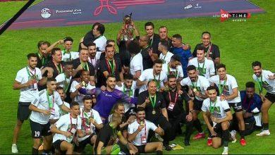 صورة طلائع الجيش بطلاً لكأس السوبر المصري علي حساب النادي الأهلي وتألق بسام والشناوي