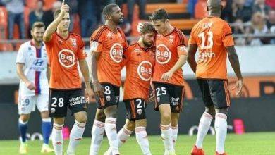 صورة لوريان بعشرة لاعبيين يهزم نيس ويدخل وسط كبار المقدمه بالدوري الفرنسي