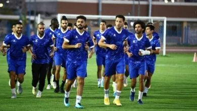 صورة سموحة يختتم إستعداداته لمواجهة بيراميدز غداً في كأس مصر