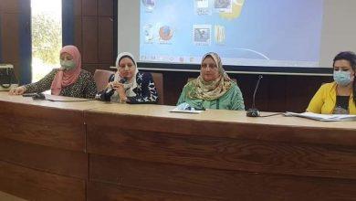 صورة لجنة حماية الطفل بمجلس مدينة المنيا تعقد ندوة لدمج ءوي الاعاقة بمكتبة مصر العامة
