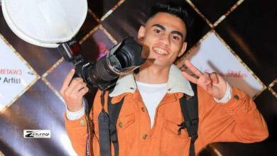صورة «شهاب أشرف» يحقق حلمه بالتصوير .. وينطلق في عالم « السيشن»