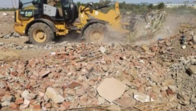 صورة وكيل وزارة الزراعة بالفيوم يشدد بتكثيف الحملات لازالة التعديات على الأراضي الزراعية في مهدها