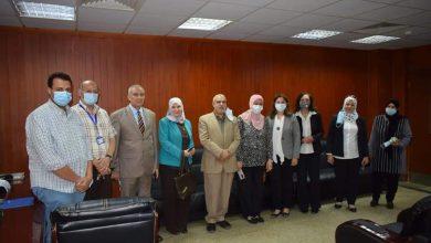 """صورة رئيس جامعة المنيا يستقبل وفد """"المجلس القومي للمرأة"""" و""""صندوق الأمم المتحدة الإنمائي"""""""