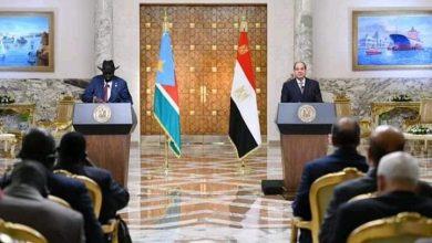 صورة كلمة السيد الرئيس عبد الفتاح السيسي في المؤتمر الصحفي عقب المباحثات مع رئيس جنوب السودان