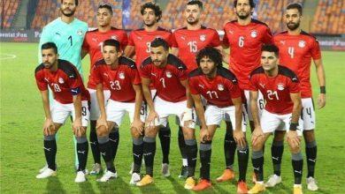 صورة ليحافظ علي صدارة المجموعة منتخب مصر أمام ليبيا خارج الديار