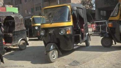صورة سائق التكاتك_بالبلينا ترفع الاسعار الي 10جنيه