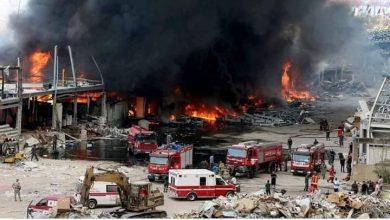 صورة حريق هائل بمصنع شهير للصناعات البلاستيكية بالعاشر من رمضان.. والحماية المدنية تسيطر