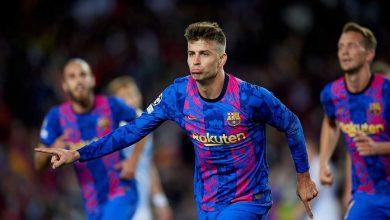 صورة «بيكيه» يمنح برشلونة الفوز الأول بدوري الابطال على حساب دينامو كييف