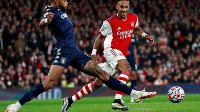 صورة أرسنال يستعيد نغمة الإنتصارات بالفوز علي أستون فيلا بثلاثية في الدوري الإنجليزي
