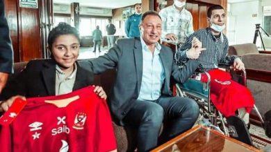 صورة عمر أيمن سلطان لاعب فريق المعجزات أصحاب كرة القدم الواحده، حلمي أن ألعب في نادي الأهلي كرة القدم الواحدة