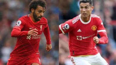 صورة صلاح ورونالدو يقودان تشكيل ليفربول ومانشستر يونايتد اليوم بالدوري الإنجليزي