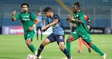 صورة الكريتى يضمن لبيراميدز الفوز على المقاصه بهدفين مقابل هدف