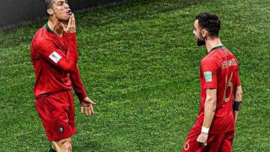"""صورة رونالدو يشارك ب """" هاتريك """" في خماسية البرتغال ضد لوكسمبورج"""