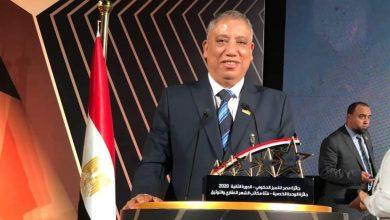 صورة محمد نوفل : أحمد محمد زيدان وكيل وزارة العدل يحصد جائزة التميز الحكومي