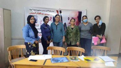 صورة مدير معهد اوارم المنيا يطلق مبادرة اهميه الكشف المبكر عن اورام الثدى